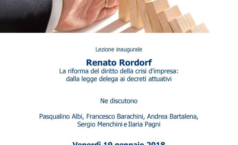 Università di Pisa, al via il Master in gestione della crisi d'impresa