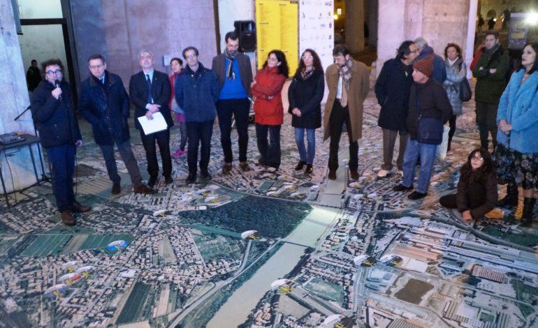 Inaugurata la mostra sui lavori pubblici del Comune di Pisa
