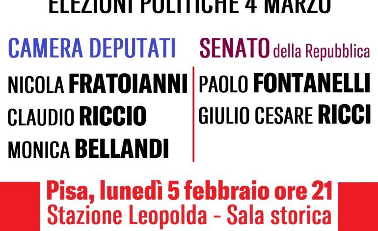 """Elezioni 2018: I candidati di """"Liberi e Uguali con Pietro Grasso"""" si presentano alla cittadinanza"""
