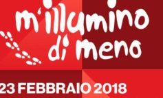 """Calcinaia partecipa all'iniziativa """"M'illumino di meno"""""""