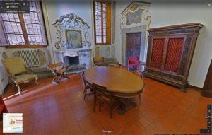 Sala del Caminetto nel Palazzo Alla Giornata