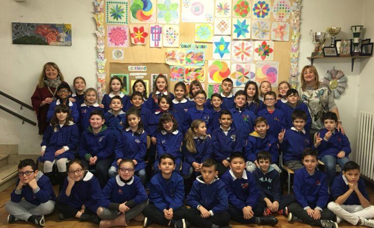 """I bambini della Scuola primaria """"Don Carlo Gnocchi"""" di Cascina alla finale del progetto """"Un testo per noi"""""""