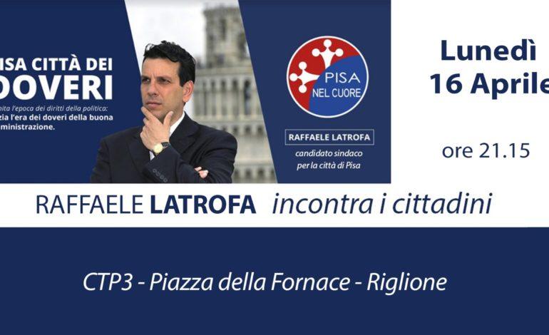 Elezioni amministrative, Latrofa incontra i cittadini