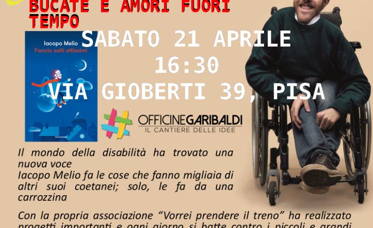 Il Coordinamento Etico dei Caregivers di Pisa presenta il libro di Iacopo Melio