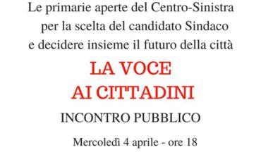 Elezioni amministrative, un comitato per sostenere le primarie del centrosinistra