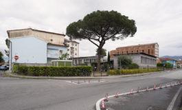 Pisa, a Porta a Mare un murales sulla parete dell'asilo notturno