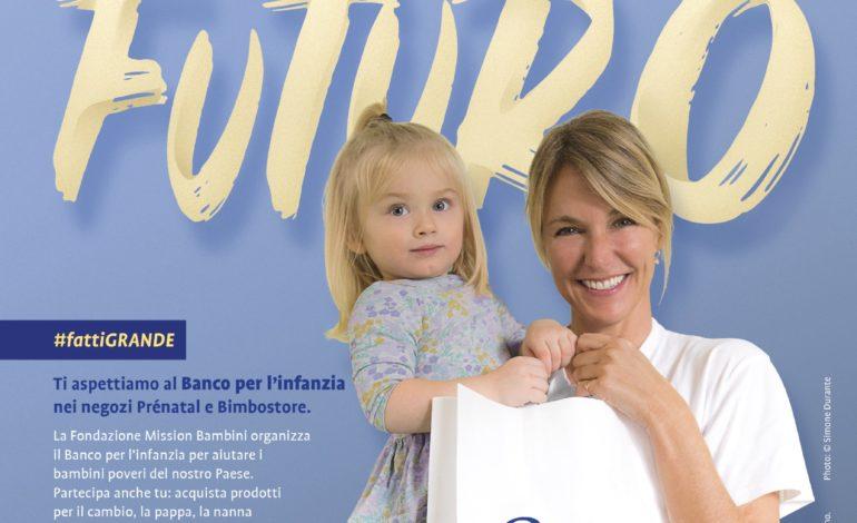 """Il 19 e 20 maggio in tutta Italia """"Banco per l'infanzia"""", un aiuto concreto per i bambini in difficoltà"""