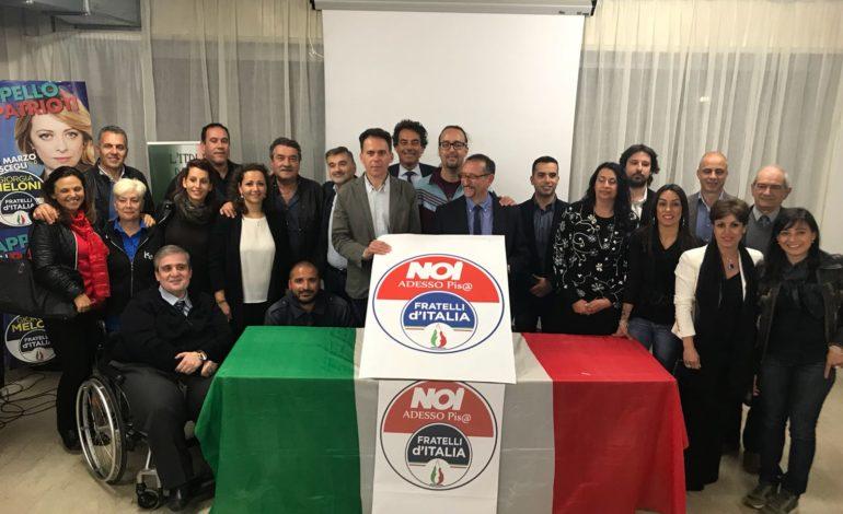 Elezioni Pisa, presentata la lista dei candidati di Noi adesso Pisa – Fratelli d'Italia a sostegno di Michele Conti Sindaco del centrodestra