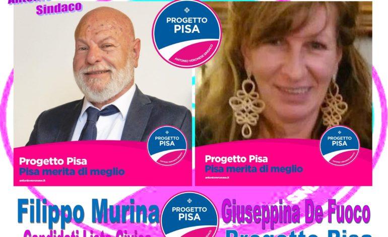 La lista Progetto Pisa collegata e in sostegno ad Antonio Veronese Sindaco organizza un incontro con i cittadini
