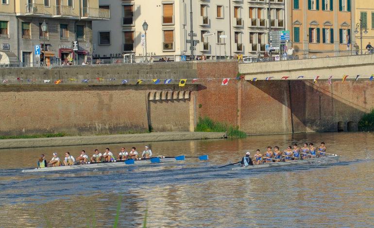Sabato 2 giugno si rinnova in Arno la sfida fra Pisa e Pavia per la 56° edizione della regata universitaria