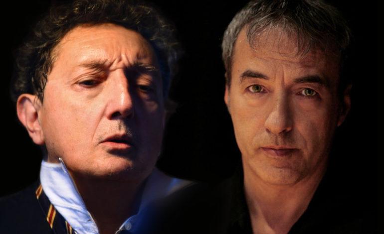 Sandro Lombardi e David Riondino al Teatro Verdi di Pisa in INFERNO NOVECENTO
