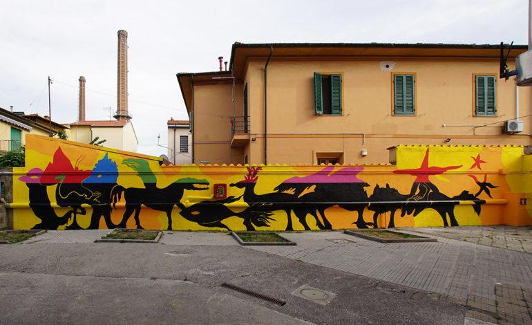 Pisa, l'arte urbana protagonista alle scuole Biagi