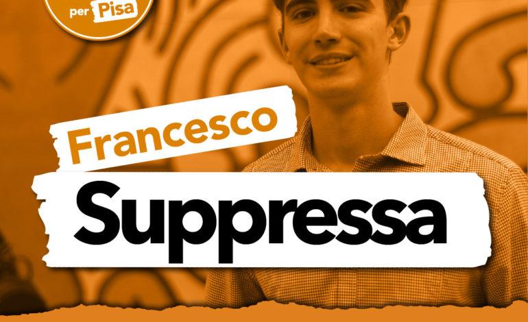 """Francesco Suppressa:""""Mi metto in gioco in prima persona per migliorare le condizioni della mia città"""""""