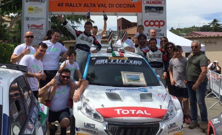 Rally, la Maranello Corse si conferma sul trono dell'Alta Val Cecina