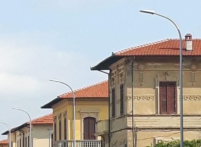 Pisa, nuova illuminazione pubblica sul litorale