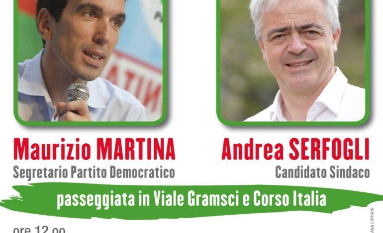 Elezioni amministrative, Maurizio Martina (PD) a Pisa per sostenere Serfogli