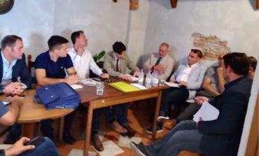 Elezioni Pisa, i candidati della Lega in un incontro con i cittadini per parlare di sicurezza