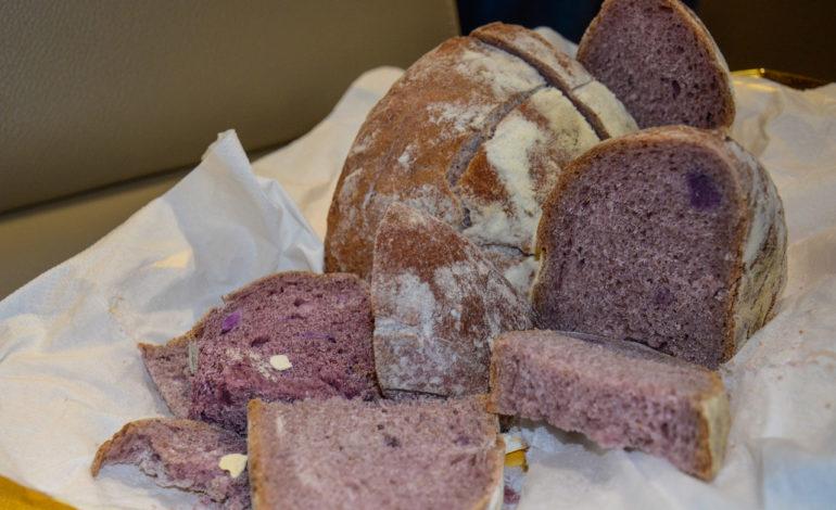 """Nasce """"Well-Bred"""", il pane viola che fa bene alla salute"""