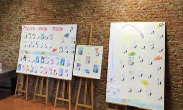 """Pisa, al Museo della Grafica premiati i bambini che hanno partecipato al concorso """"Pescatori di immagini e di emozioni"""""""