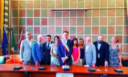 Pisa, presentata la nuova Giunta