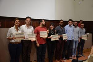 Il gruppo dei finalisti.
