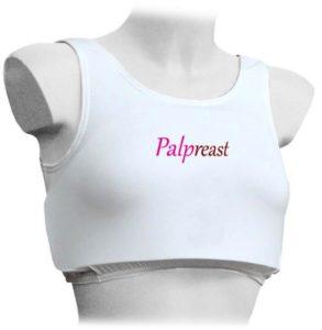 Il prototipo del dispositivo Palpreast per l'autopalpazione al seno.