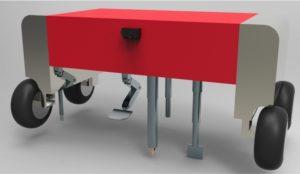 Il prototipo del robot per il controllo delle erbe infestanti (Netralmec).