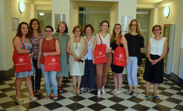 Quattro studentesse ambasciatrici dell'Università di Pisa in Francia