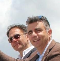 Il Sindaco Conti con il Senatore Vescovi