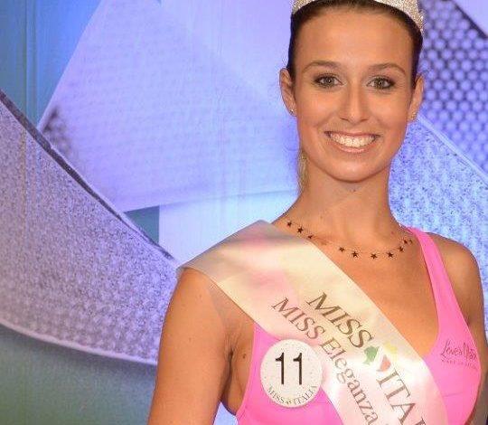 Diletta Bitorzoli di Prato e' Miss Eleganza Toscana 2018