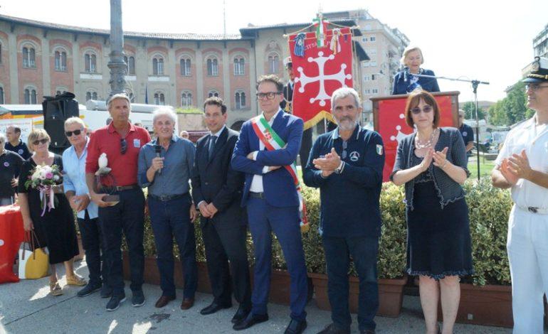 Pisa, Giornata della Protezione Civile in piazza Vittorio Emanuele