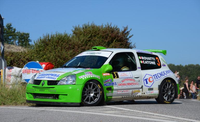 Al Rally di Casciana Terme vince Rovatti