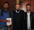 """Pisa, l'assessore alla cultura Andrea Buscemi incontra attore e produttore del film """"Amour"""""""