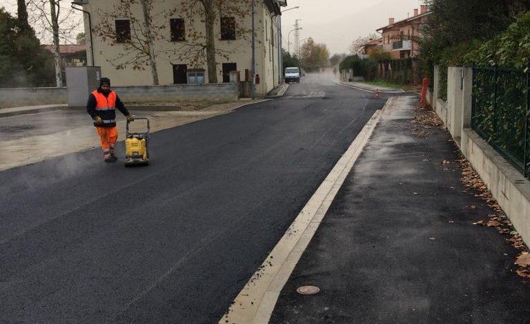 Calcinaia, avviati i lavori di asfaltatura in Via delle Case Bianche