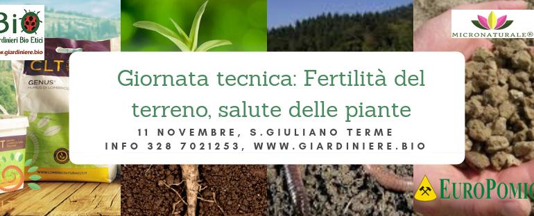 Prima giornata tecnica dei Giardinieri BioEtici in Toscana