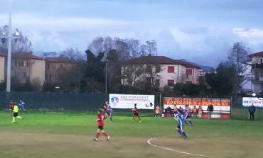 Al campo comunale Alberone derby tutto pisano, Pisa Ovest ed Mda