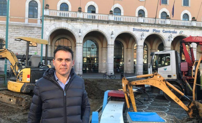 Piazza della Stazione, partiti i lavori di riqualificazione
