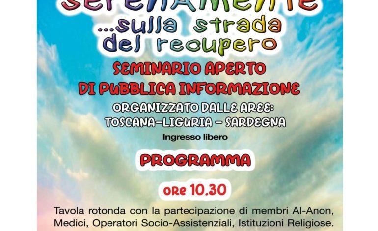 Pisa, Pisa, seminario  su  alcolismo e famiglia