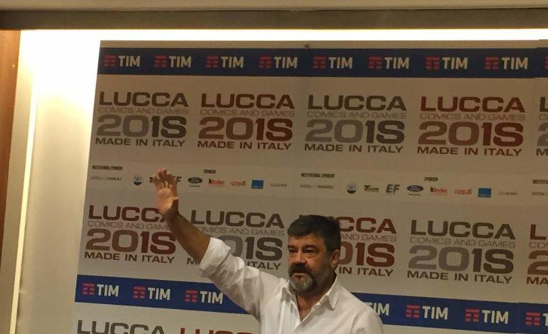 Francesco Pannofino al Lucca Comics & Games 2018