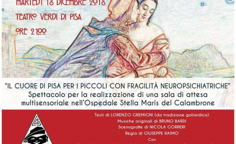 La Fondazione Stella Maris e il Lions Club Pisa Certosa presentano il Natale solidale pisano
