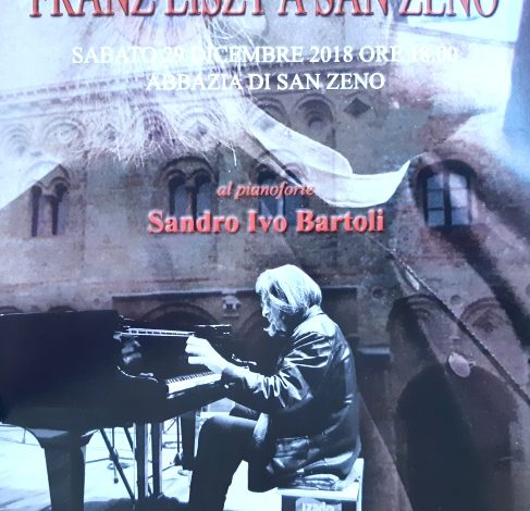 Le musiche di Franz Liszt a San Zeno con il maestro Bartoli