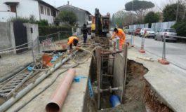 Conclusi i lavori per la nuova fognatura a San Piero a Grado