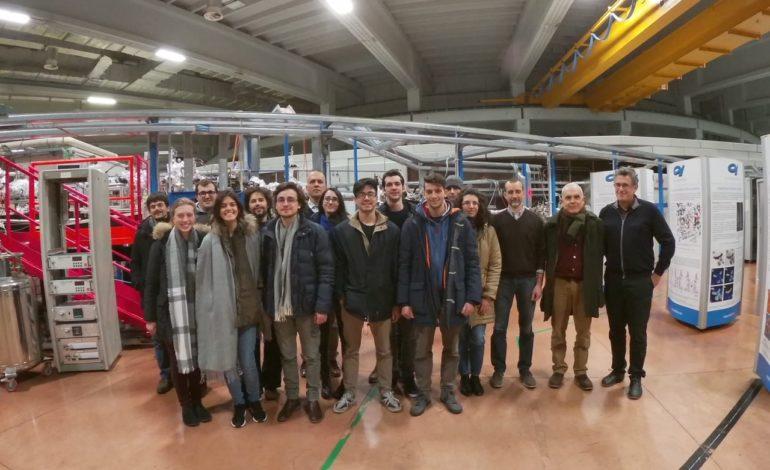 Studenti Unipi a lezione al centro di ricerca Elettra Sincrotrone Trieste