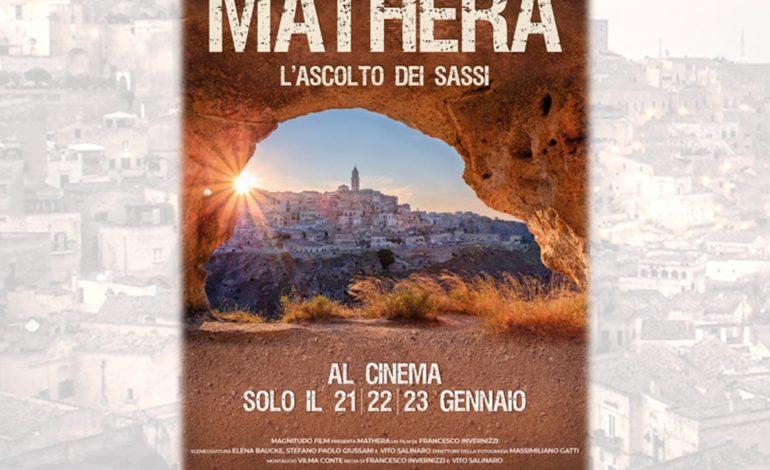 """""""MATHERA – L'ASCOLTO DEI SASSI"""" di Francesco Invernizzi al cinema Arsenale"""