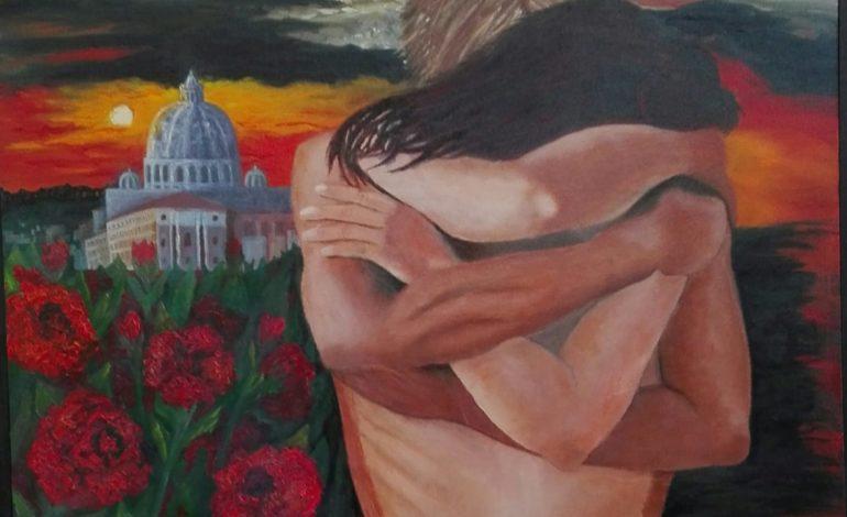 """""""Parliamo d'amore"""", la pittrice Bruna Secco in mostra a """"La Magione del Tau"""""""