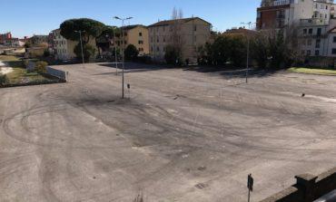 Pisa, partito l'intervento di riqualificazione al parcheggio di via Da Morrona