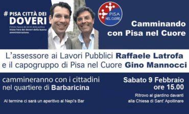 """A Barbaricina la nuova tappa di """"Camminando con Pisa nel Cuore"""""""