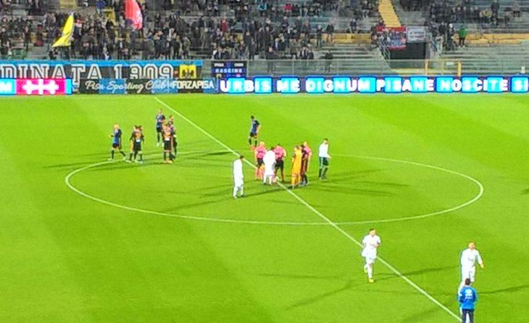 Grande affermazione dei nerazzurri: Pisa- Pro Vercelli 2-1