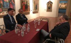 Il Sindaco di Pisa Michele Conti ha incontrato il Ministro dei Beni Culturali Alberto Bonisoli