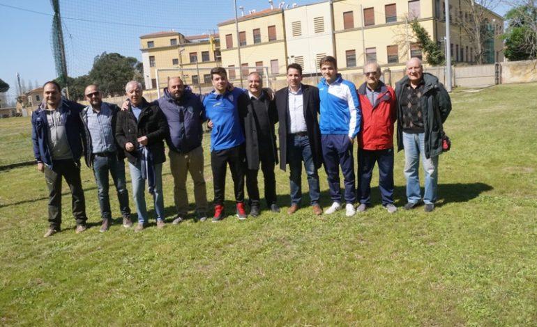 Pisa, l'Assessore Latrofa consegna le chiavi del Campo Abetone